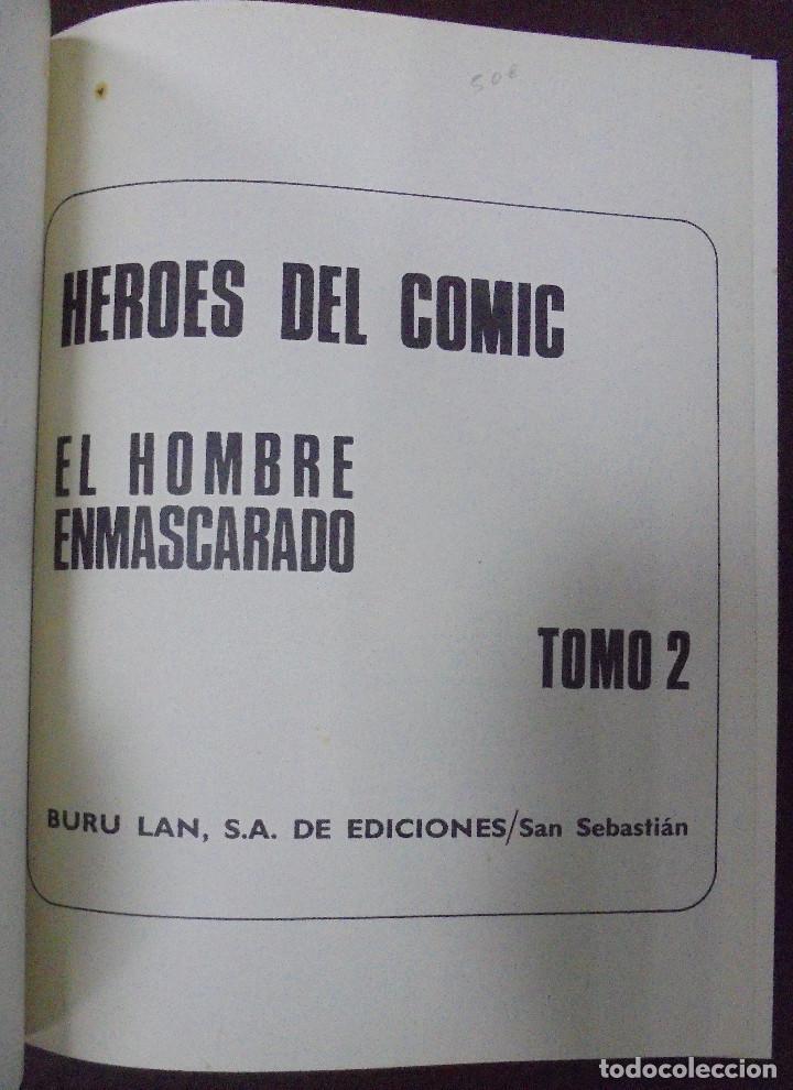 Cómics: EL HOMBRE ENMASCARADO. AFRONTANDO EL PELIGRO. TOMO II. BURU LAN EDICIONES. 12 EPISODIOS. 1971. - Foto 2 - 87294132