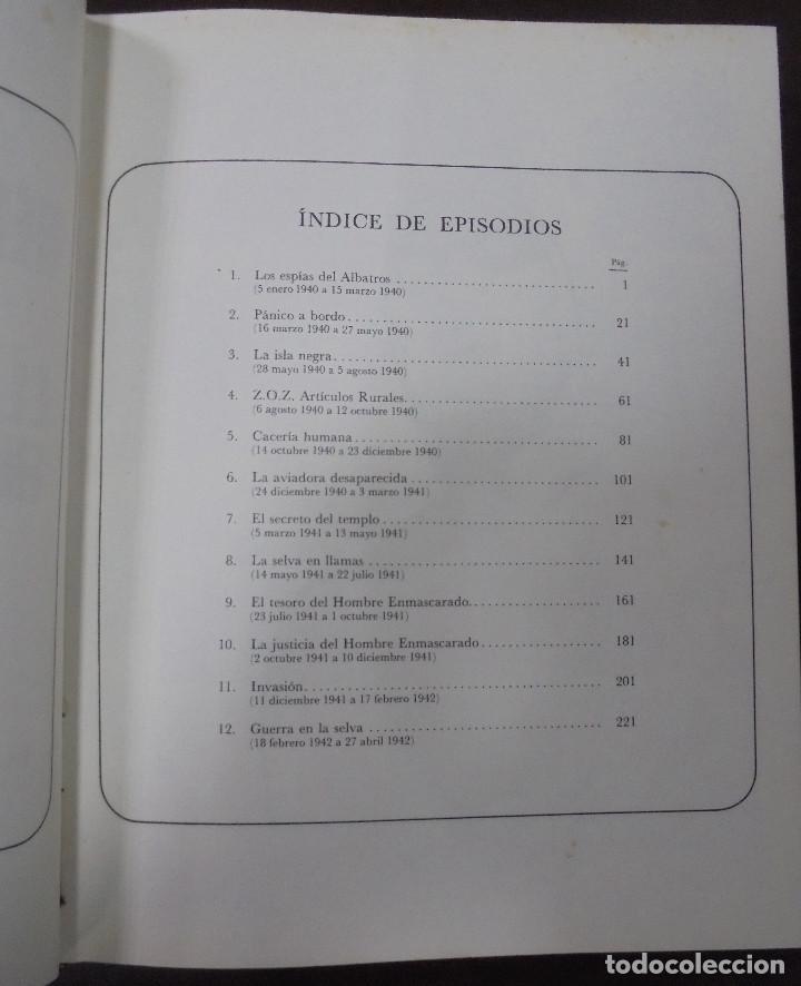 Cómics: EL HOMBRE ENMASCARADO. AFRONTANDO EL PELIGRO. TOMO II. BURU LAN EDICIONES. 12 EPISODIOS. 1971. - Foto 3 - 87294132