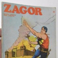 Comics : ZAGOR Nº 33 - EL FUERTE ABANDONADO (BURU-LAN, 1972). Lote 87308624
