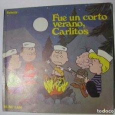 Cómics: FUE UN CORTO VERANO, CARLITOS - CHARLES M. SCHULZ - BURU LAN - 1972. Lote 87663028