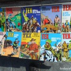 Cómics: TEX NºS 12 15 16 34 35 37 38 45 46 56. BURU LAN 1972. SUELTOS. REGALO 3 ITALIANOS Y 2 DE ZINCO.. Lote 87741060