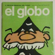 Cómics: EL GLOBO- REVISTA MENSUAL DEL COMIC Nº2 AÑO I - 1973 - BURULAN . Lote 88096360