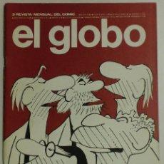 Cómics: EL GLOBO- REVISTA MENSUAL DEL COMIC Nº3 - AÑO I - 1973 - BURULAN . Lote 88096864
