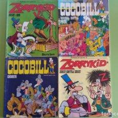 Cómics: HEROES DE PAPEL 1 - 3 - 8 - 10. COCOBILL Y ZORRYKID. Lote 88112576