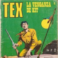 Cómics: TEX, AÑO 1.970 - 1.974. DE 25 PTS. (21 X 16) COLECCIÓN DE 93. TEBEOS Nº 9. BURU LAN S. A. EDICIONES.. Lote 88160664
