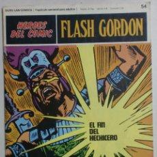 Cómics: HÉROES DEL CÓMIC - FLASH GORDON TOMO 5 Nº54 - FASCÍCULO SEMANAL ADULTOS - BURULAN COMICS. Lote 88476776