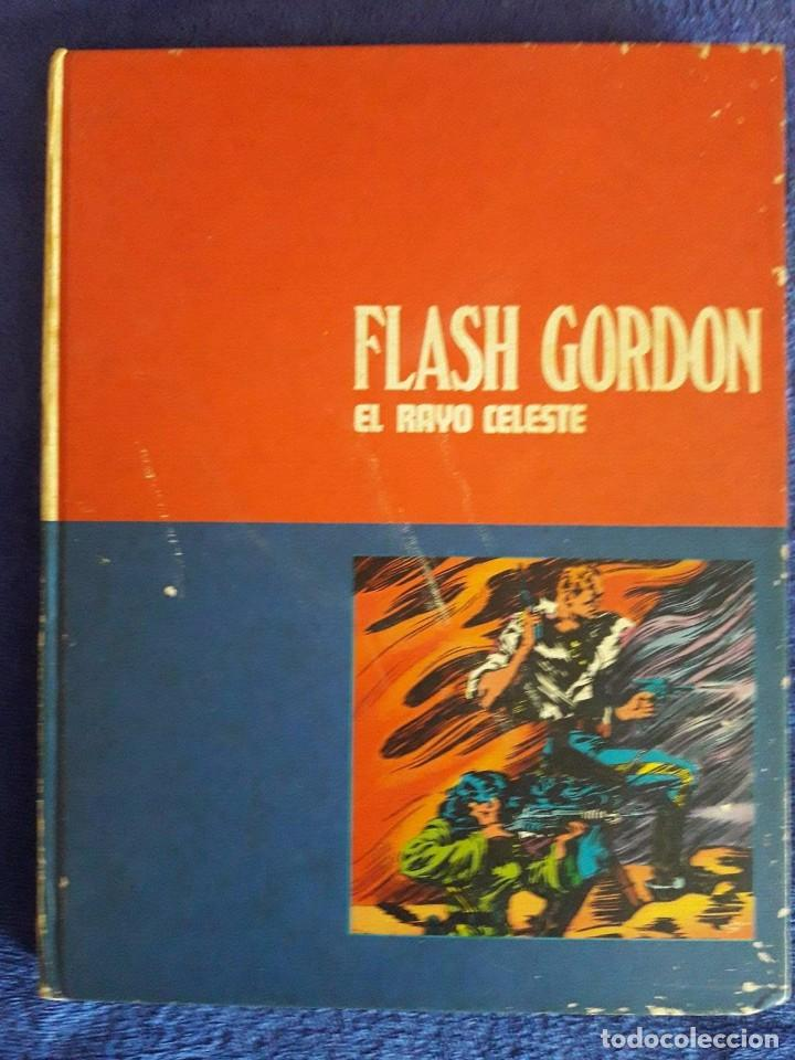 FLASH GORDON / EL RAYO CELESTE / TOMO 0I / EDITORIAL BURU LAN / 1972 (Tebeos y Comics - Buru-Lan - Flash Gordon)