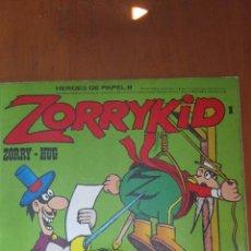 Cómics: ZORRYKID Nº 1 - HEROES DE PAPEL - BURULAN. Lote 88810884