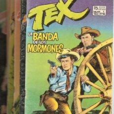 Cómics: TEX, AÑO 1.981. LOTE DE 6. TEBEOS ORIGINALES DEL Nº 1, AL Nº 6. NUEVOS EDICIONES ZINCO,. Lote 89009776