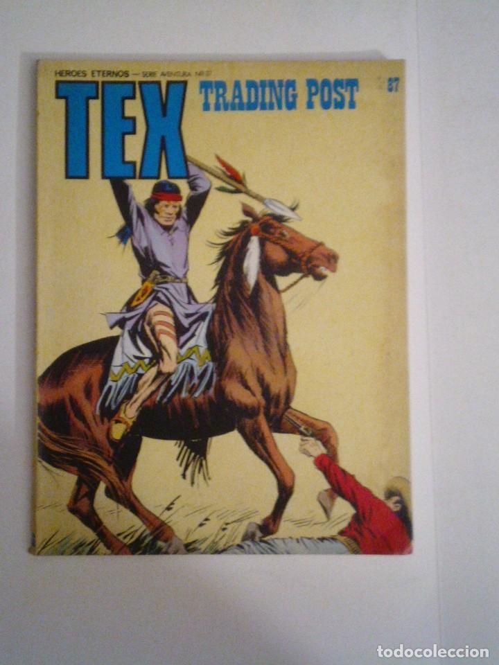 TEX - BURU LAN - NUMERO 87 - BUEN ESTADO - GORBAUD - CJ 105 (Tebeos y Comics - Buru-Lan - Tex)