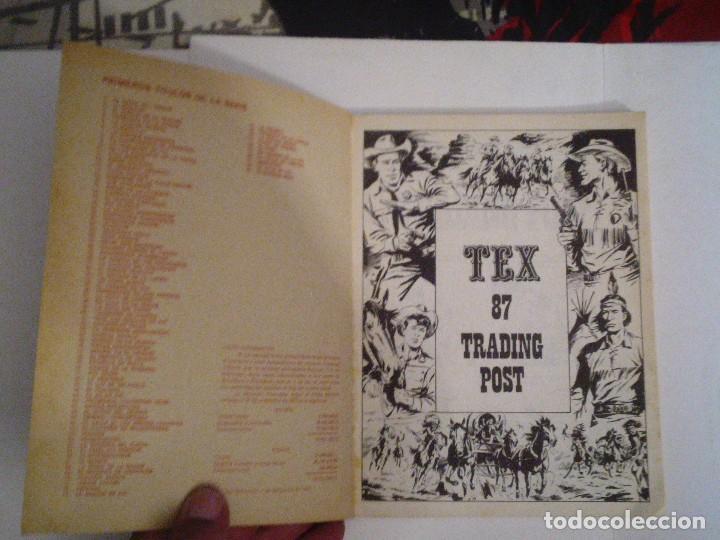 Cómics: TEX - BURU LAN - NUMERO 87 - BUEN ESTADO - GORBAUD - cj 105 - Foto 2 - 89012520