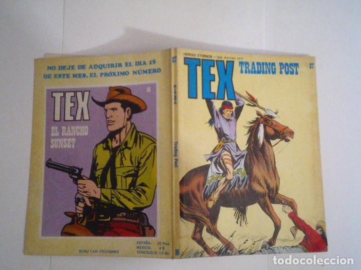 Cómics: TEX - BURU LAN - NUMERO 87 - BUEN ESTADO - GORBAUD - cj 105 - Foto 6 - 89012520