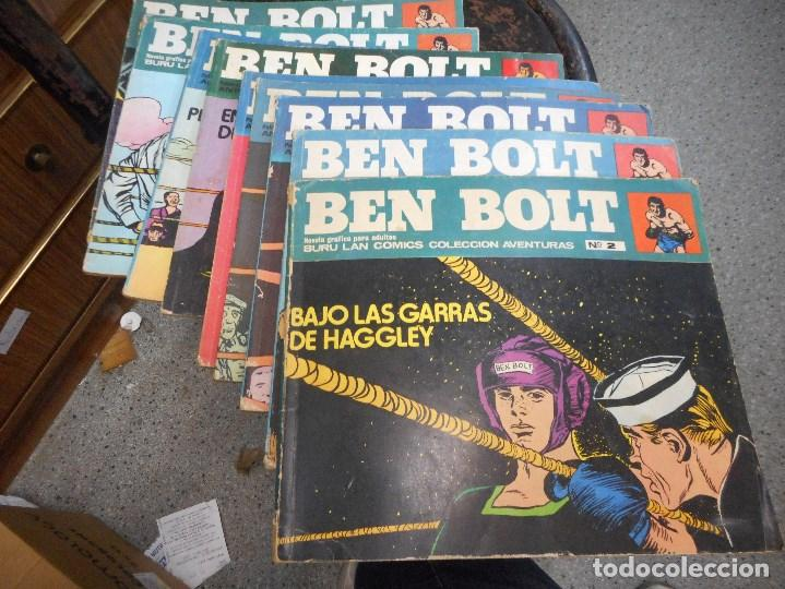 COLECCION COMPLETA A FALTA TRES NUMEROS BEN BOLT BURU LAN (Tebeos y Comics - Buru-Lan - Otros)