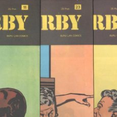 Cómics: RIP KIRBY BURULAN 1973 - NºS 11,23,24 - MUY NUEVOS. Lote 89393744