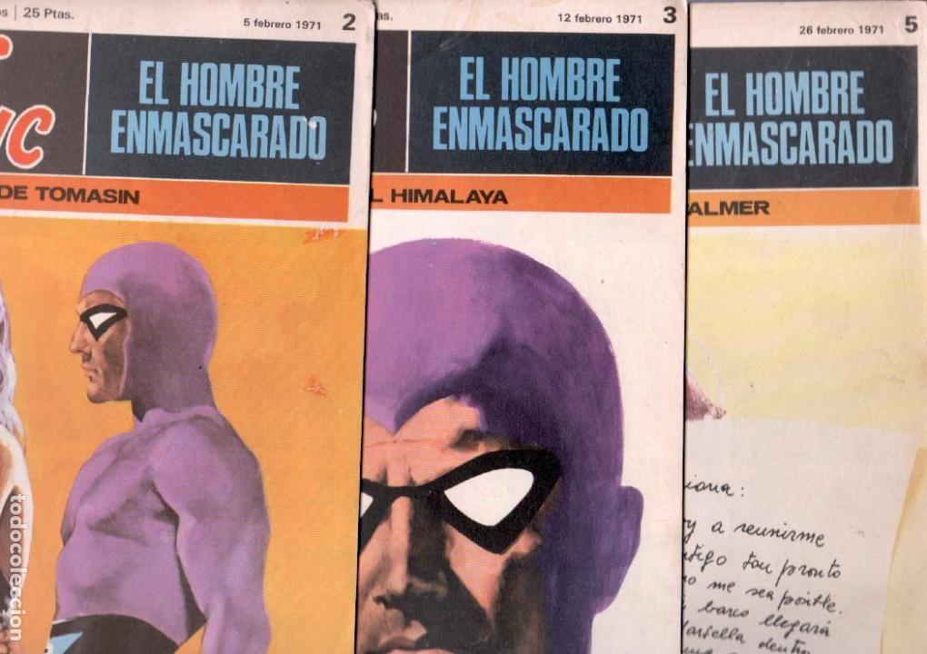 Cómics: EL HOMBRE ENMASCARADO BURULAN 23 NºS- 2,3,5,6,7,8,9,10,11,13,14,15,16,17,18,20,21,22,26,29,30,32,35 - Foto 2 - 89394628