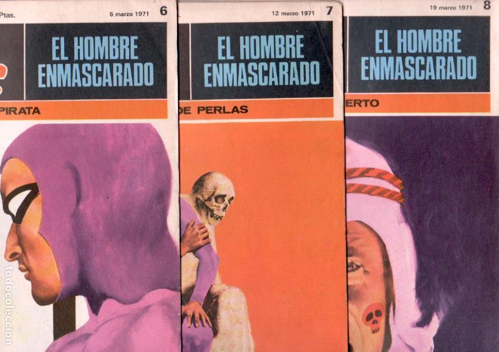 Cómics: EL HOMBRE ENMASCARADO BURULAN 23 NºS- 2,3,5,6,7,8,9,10,11,13,14,15,16,17,18,20,21,22,26,29,30,32,35 - Foto 3 - 89394628