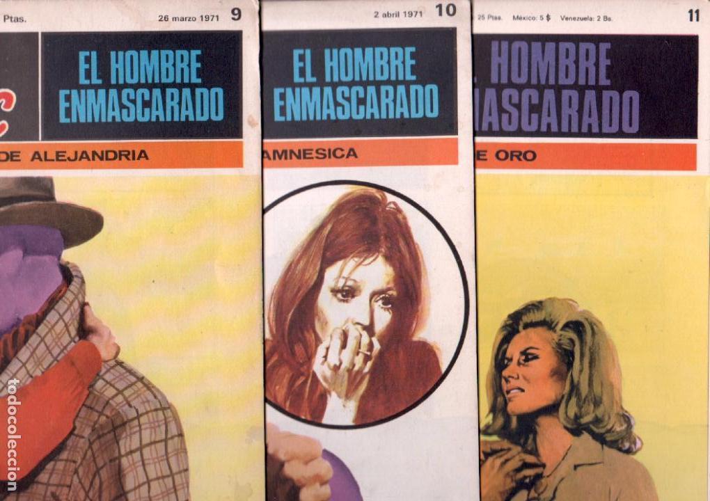 Cómics: EL HOMBRE ENMASCARADO BURULAN 23 NºS- 2,3,5,6,7,8,9,10,11,13,14,15,16,17,18,20,21,22,26,29,30,32,35 - Foto 4 - 89394628