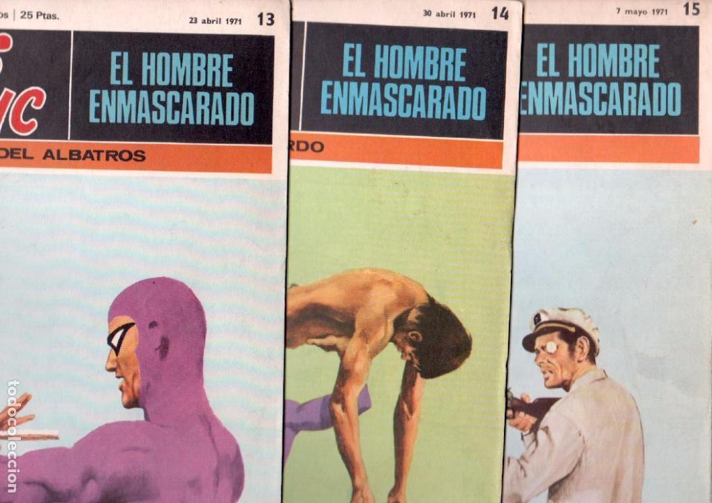 Cómics: EL HOMBRE ENMASCARADO BURULAN 23 NºS- 2,3,5,6,7,8,9,10,11,13,14,15,16,17,18,20,21,22,26,29,30,32,35 - Foto 5 - 89394628
