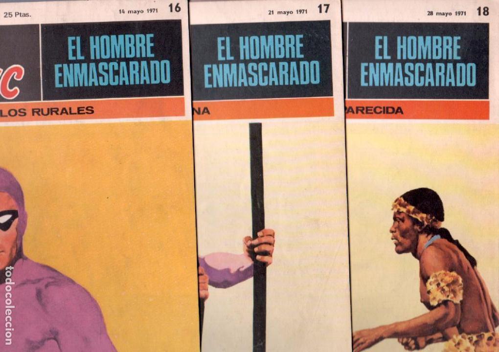 Cómics: EL HOMBRE ENMASCARADO BURULAN 23 NºS- 2,3,5,6,7,8,9,10,11,13,14,15,16,17,18,20,21,22,26,29,30,32,35 - Foto 6 - 89394628
