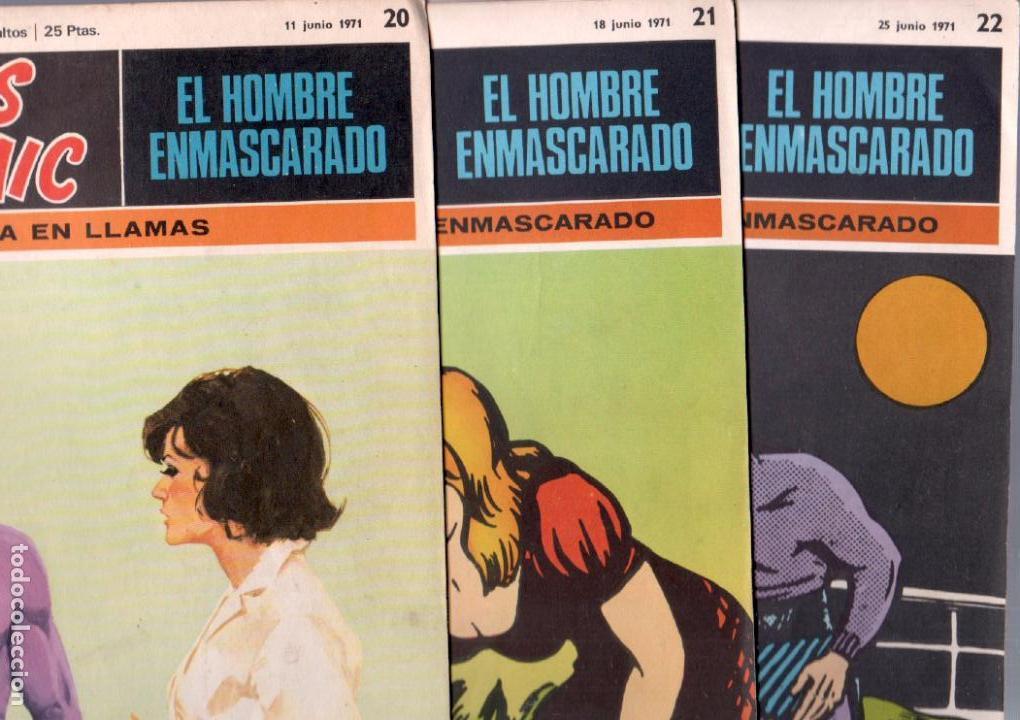 Cómics: EL HOMBRE ENMASCARADO BURULAN 23 NºS- 2,3,5,6,7,8,9,10,11,13,14,15,16,17,18,20,21,22,26,29,30,32,35 - Foto 7 - 89394628