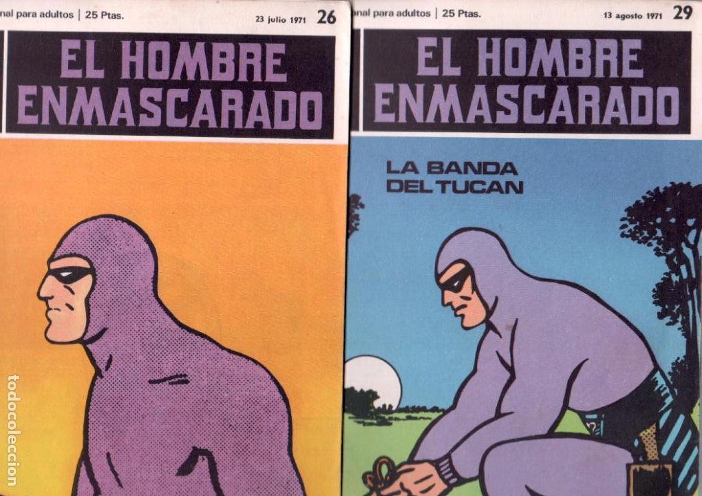 Cómics: EL HOMBRE ENMASCARADO BURULAN 23 NºS- 2,3,5,6,7,8,9,10,11,13,14,15,16,17,18,20,21,22,26,29,30,32,35 - Foto 8 - 89394628