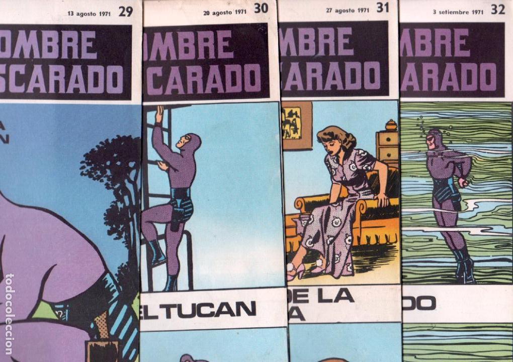 EL HOMBRE ENMASCARADO BURULAN - NºS - 1 AL 22, 24,26,29,30,31,32,33,34,35,37,38,39,40,42,45 (Tebeos y Comics - Buru-Lan - Hombre Enmascarado)