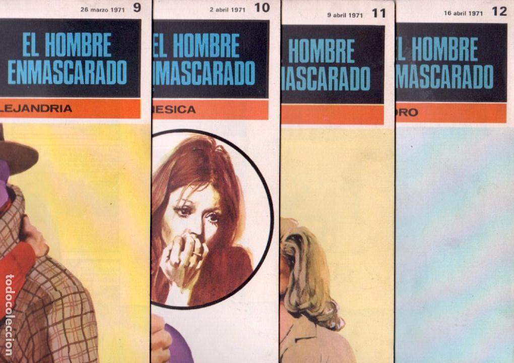 Cómics: EL HOMBRE ENMASCARADO BURULAN - NºS - 1 AL 22, 24,26,29,30,31,32,33,34,35,37,38,39,40,42,45 - Foto 3 - 89394868