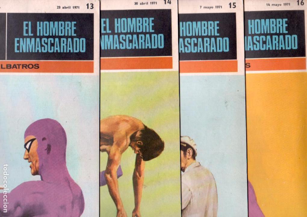 Cómics: EL HOMBRE ENMASCARADO BURULAN - NºS - 1 AL 22, 24,26,29,30,31,32,33,34,35,37,38,39,40,42,45 - Foto 5 - 89394868