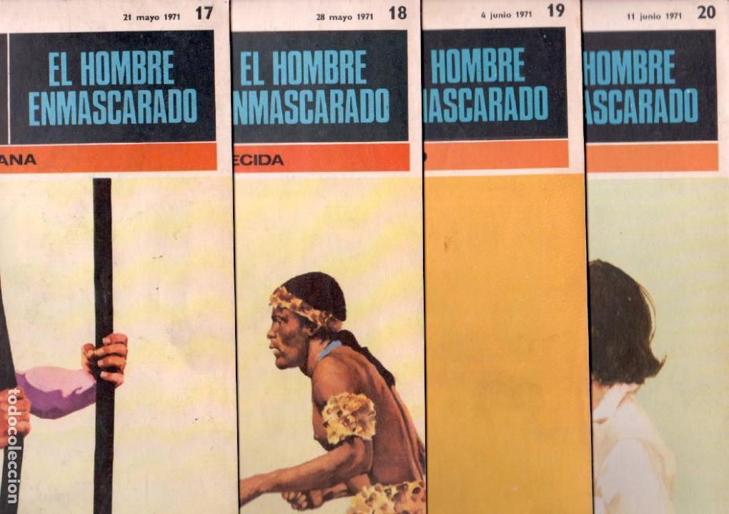 Cómics: EL HOMBRE ENMASCARADO BURULAN - NºS - 1 AL 22, 24,26,29,30,31,32,33,34,35,37,38,39,40,42,45 - Foto 6 - 89394868