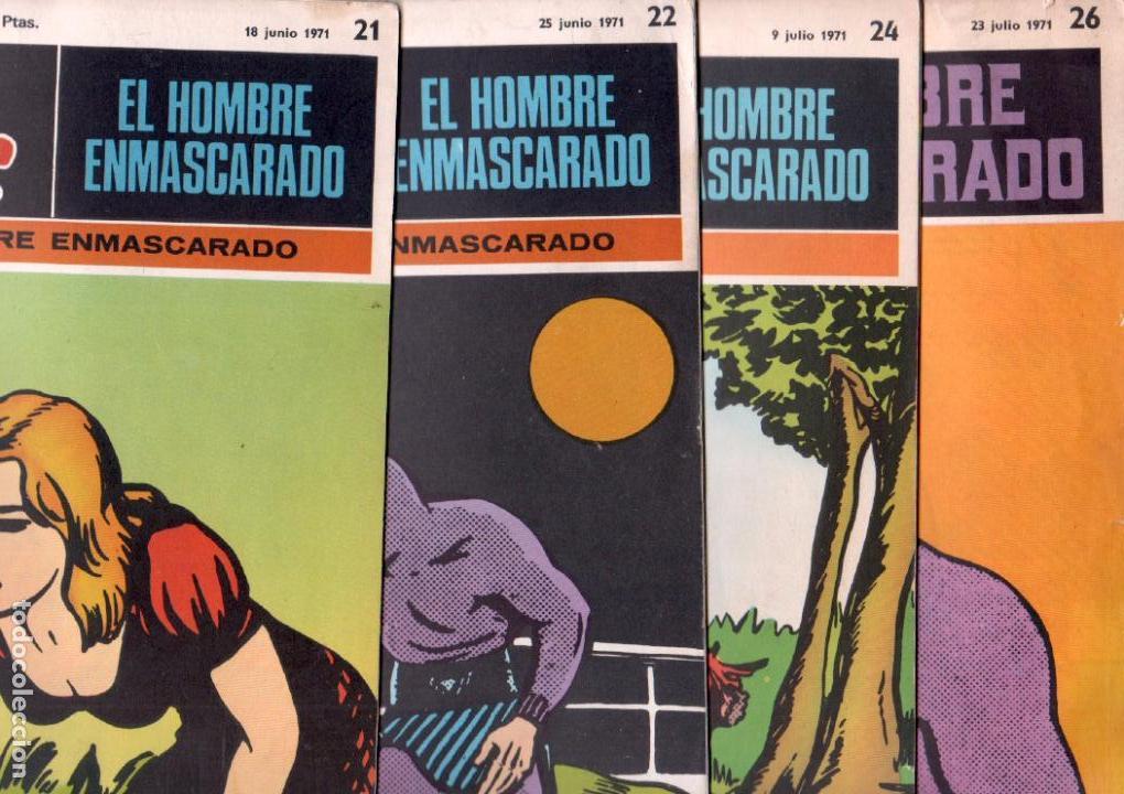 Cómics: EL HOMBRE ENMASCARADO BURULAN - NºS - 1 AL 22, 24,26,29,30,31,32,33,34,35,37,38,39,40,42,45 - Foto 7 - 89394868