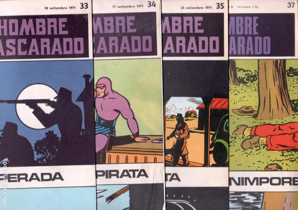 Cómics: EL HOMBRE ENMASCARADO BURULAN - NºS - 1 AL 22, 24,26,29,30,31,32,33,34,35,37,38,39,40,42,45 - Foto 8 - 89394868
