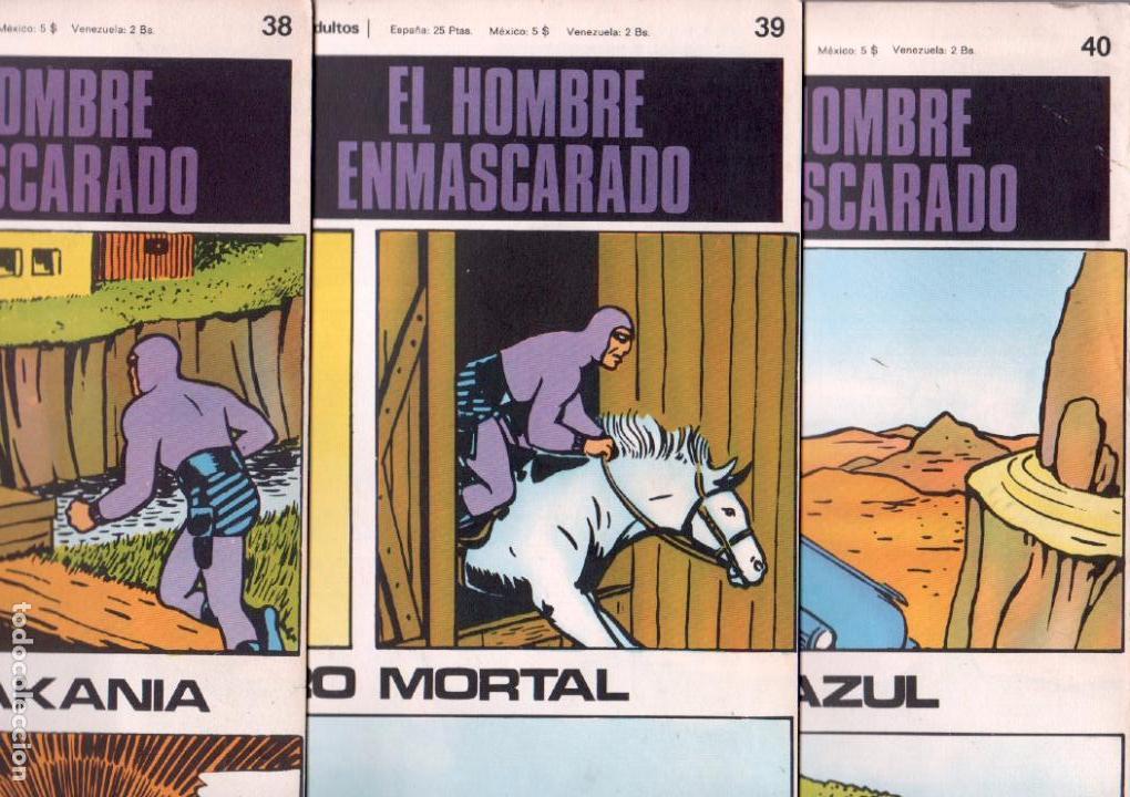 Cómics: EL HOMBRE ENMASCARADO BURULAN - NºS - 1 AL 22, 24,26,29,30,31,32,33,34,35,37,38,39,40,42,45 - Foto 9 - 89394868