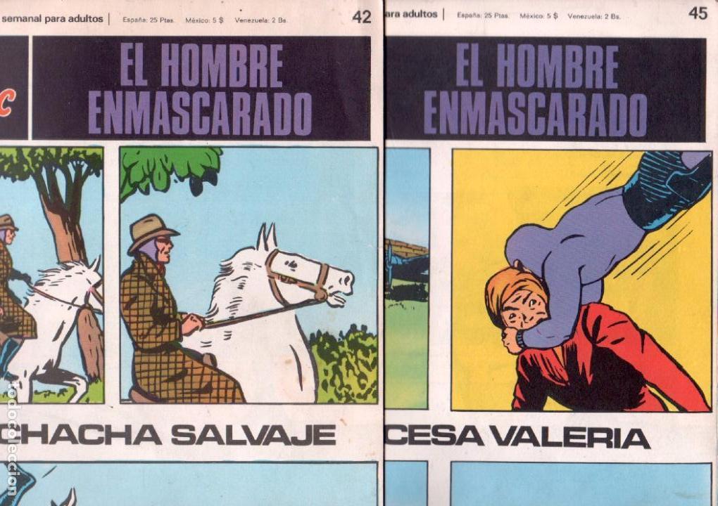 Cómics: EL HOMBRE ENMASCARADO BURULAN - NºS - 1 AL 22, 24,26,29,30,31,32,33,34,35,37,38,39,40,42,45 - Foto 10 - 89394868