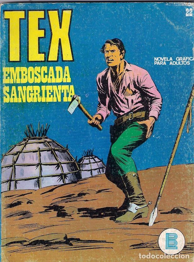 TEX. Nº 22. EMBOSCADA SANGRIENTA (Tebeos y Comics - Buru-Lan - Tex)