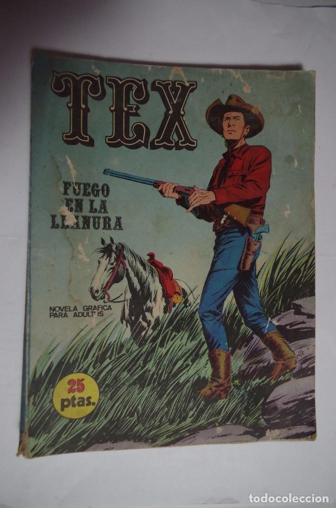 TEX 17 - BURU LAN - FUEGO EN LA LLANURA (Tebeos y Comics - Buru-Lan - Tex)