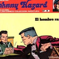 Cómics: JOHNNY HAZARD. EL HOMBRE RANA. COLECCION AVENTURA. Nº 3. BURU LAN. AÑO 1973. Lote 91926220
