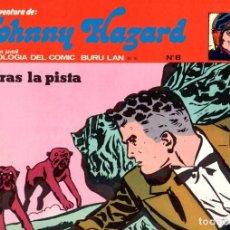 Cómics: JOHNNY HAZARD. TRAS LA PISTA. COLECCION AVENTURA. Nº 8. BURU LAN. AÑO 1973. Lote 89744712