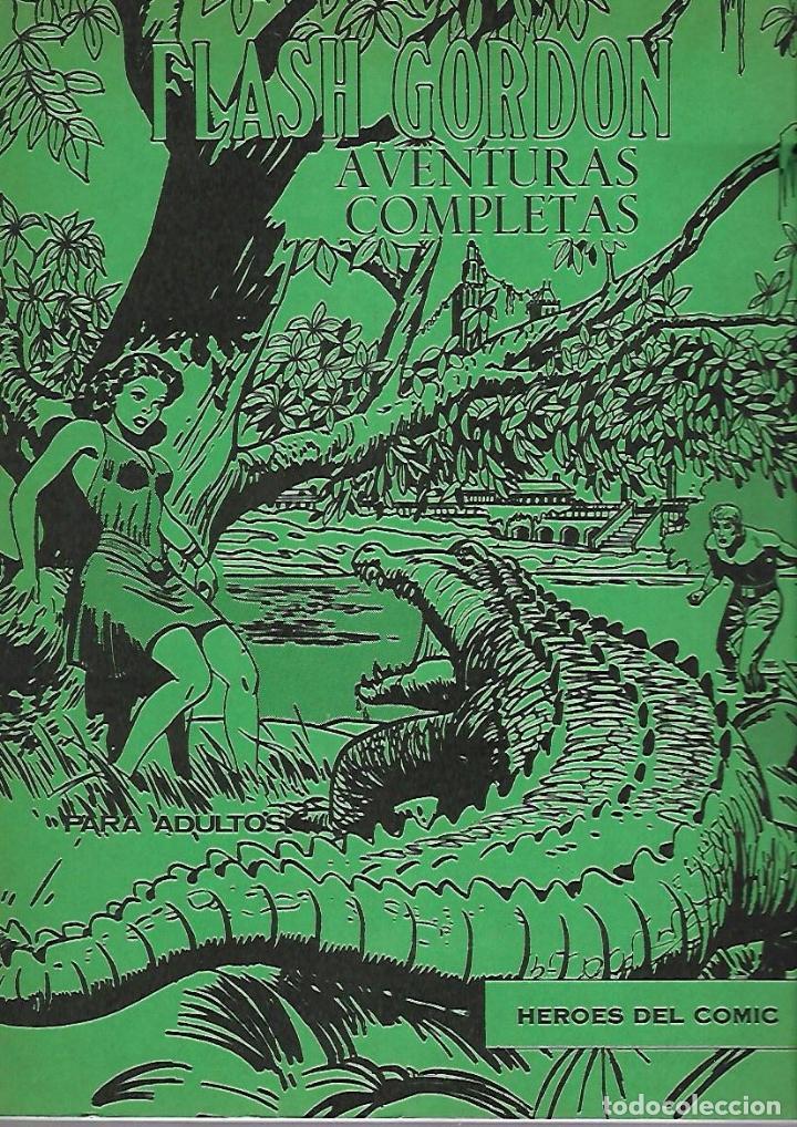 FLASH GORDON. AVENTURAS COMPLETAS. TOMO 8. BURU LAN COMICS. 1972 (Tebeos y Comics - Buru-Lan - Flash Gordon)