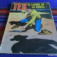 Cómics: TEX Nº 92 Y ÚLTIMO, EL LADRÓN DE LA SIERRA. BURU LAN 1974. 30 PTS. MUY DIFÍCIL!!!!. Lote 89990824