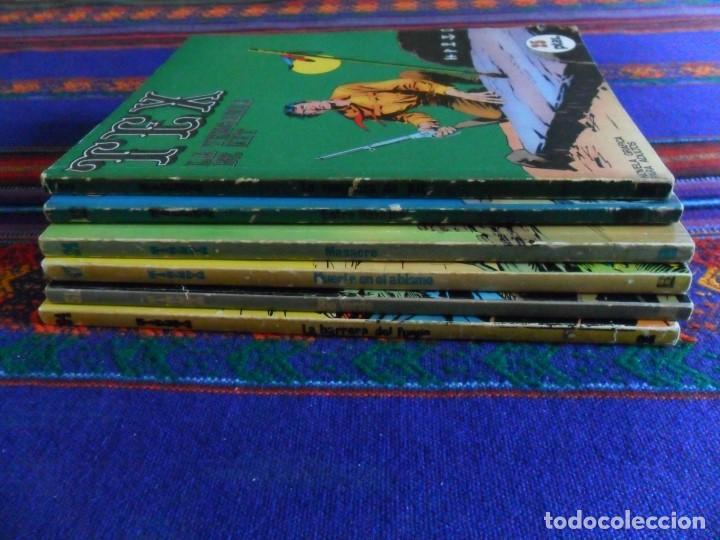 Cómics: TEX NºS 9, 12, 24, 47, 51 Y 64. BURU LAN 1971. 25 PTS. PRIMERA EDICIÓN Y BUEN ESTADO. - Foto 2 - 89992480