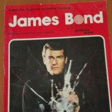 Cómics: JAMES BOND,Nº1. COLECCION AGENTES SECRETOS BURULAN, 1974. Lote 90246476