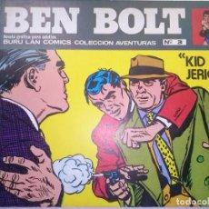 Cómics: BEN BOLT- Nº 3- KID JERICHO- EL GRAN JOHN CULLEN MURPHY-FLAMANTE- MUY RARO- LEAN- 6677. Lote 156996134