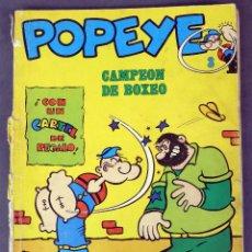 Cómics: POPEYE Nº 3 ED BURU LAN BURULAN 1970 CAMPEÓN DE BOXEO. Lote 90976850
