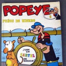 Cómics: POPEYE Nº 5 ED BURU LAN BURULAN 1970 PUÑOS DE HIERRO. Lote 90977160