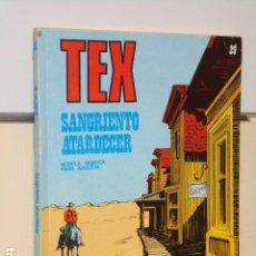 Cómics: TEX Nº 29 SANGRIENTO ATARDECER - BURU LAN -. Lote 91004305