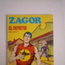 Cómics: ZAGOR - BURU LAN - NUMERO 21 - MUY BUEN ESTADO - CJ 76 - GORBAUD. Lote 91286760