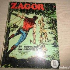 Cómics: ZAGOR Nº 32 EL RESCATE BURULAN. Lote 91407940