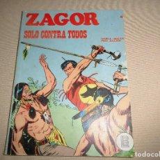 Cómics: ZAGOR Nº 45 SOLO CONTRA TODOS BURULAN. Lote 91408015