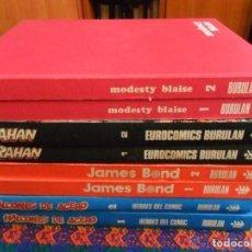 Cómics: MODESTY BLAISE COMPLETA EN 2 TOMOS EN MUY BUEN ESTADO. BURU LAN 1973.. Lote 91451890