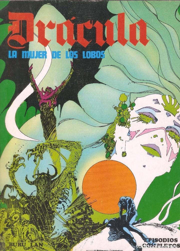 Cómics: DRÁCULA - EL SENDERO DE LOS MUERTOS /LA MUJER DE LOS LOBOS - ESTEBAN MAROTO - BURU LAN ED., 1974. - Foto 4 - 92737990